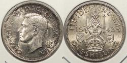 World Coins - GREAT BRITAIN: 1943 Shilling