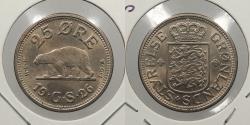World Coins - GREENLAND: 1926 Polar bear. 25 Ore