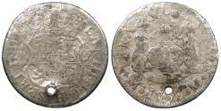 World Coins - MEXICO Charles (Carlos) III 1766-Mo M 2 Reales 'Pistareen' No Grade