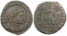 Ancient Coins - Constantine I, the Great 307-337 A.D. Follis Rome Mint VF