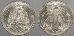 World Coins - MEXICO: 1943 20 Centavos