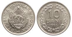 World Coins - ROMANIA 1955 10 Bani UNC