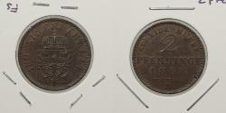 World Coins - GERMAN STATES: Prussia 1868-B 2 Pfenninge