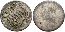 World Coins - GERMAN STATES: Bavaria 1764 1/2 Kreuzer