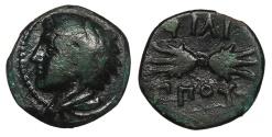 Ancient Coins - Kings of Macedon Philip II 359-336 BC 1/4 Unit Near VF