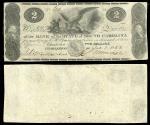 Us Coins - Charleston, SC Bank of the State of South Carolina; Fairman, Draper, Underwood & Co., engravers. Jan. 1, 1862 2 Dollars F/VF