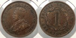 World Coins - BRITISH HONDURAS: 1916-H Cent