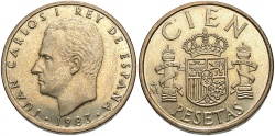 World Coins - SPAIN: 1983 100 Pesetas