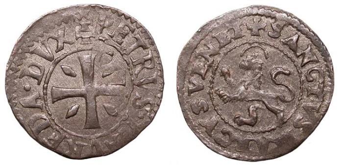 World Coins - CYPRUS Doge Pietro Loredan 1567-1570 4 Carzie UNC