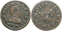 World Coins - FRANCE: Chateau-Renaud 1603-1605 Double Tournois