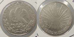 World Coins - MEXICO: 1860/59-Mo ZS 2 Reales