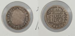 World Coins - PERU: 1788-LIMAE IJ Charles III 1/2 Real
