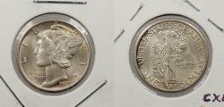 Us Coins - 1939-D Mercury 10 Cents (Dime)