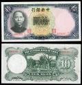 World Coins - CHINA Central Bank of China 1936 5 Yuan AU