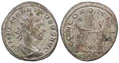 Ancient Coins - Probus 276-282 A.D. Antoninianus Siscia Mint EF