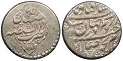 World Coins - IRAN Karim Khan AH 1182 (1768) 2 Abbasi AU