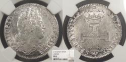 World Coins - GERMAN STATES Lothringen (Lorraine) Leopold Joseph, the Good 1713 Teston NGC MS-63