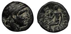 Ancient Coins - Seleukid Kings Antiochos I 281-261 B.C. AE15 Good VF