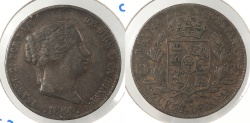 World Coins - SPAIN: 1864 25 Centimos
