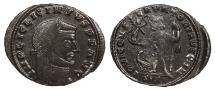 Ancient Coins - Licinius I 308-324 A.D. Follis Siscia Mint VF