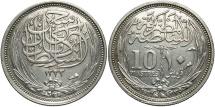 World Coins - EGYPT: 1917 10 Piastres