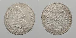 World Coins - AUSTRIA: 1668 Leopold 'the Hogmouth' 3 Kreuzer