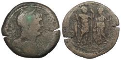 Ancient Coins - Egypt Alexandria Trajan 98-117 A.D. Drachm Alexandria Mint Good Fine