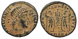 Ancient Coins - Constantine I, the Great 307-337 A.D. AE4 Antioch Mint Near EF