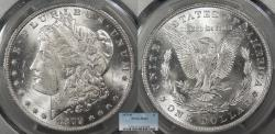 Us Coins - 1879 O Morgan 1 Dollar (Silver) PCGS MS-63