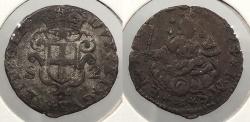World Coins - ITALIAN STATES: Genoa 1724-FMS 2 Soldi