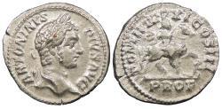 Ancient Coins - Caracalla 198-217 A.D. Denarius Rome Mint Near EF