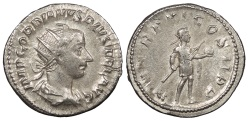 Ancient Coins - Gordian III 238-244 A.D. Antoninianus Rome Mint Good VF
