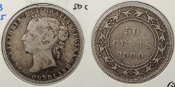 World Coins - CANADA: Newfoundland 1900 50 Cents