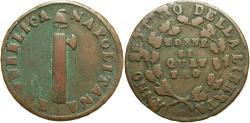 World Coins - ITALIAN STATES: Naples & Sicily An 7 (1799) 4 Tornesi