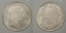 World Coins - ROMANIA: 1939 250 Lei