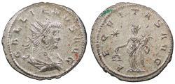 Ancient Coins - Gallienus 253-268 A.D. Antoninianus Rome Mint EF