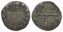 World Coins - SPAIN Barcelona Jaime II 1327-1335 Dinero (Diner) Fine
