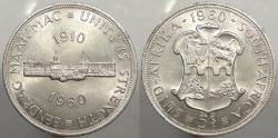 World Coins - SOUTH AFRICA: 1960 Union. 5 Shillings