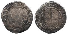 World Coins - ENGLAND Elizabeth I 1558-1603 Halfgroat (Twopence) 1582-1584 Good VF
