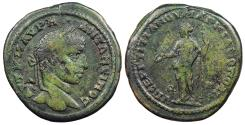 Ancient Coins - Moesia Inferior Marcianopolis Elagabalus 218-222 A.D. AE27 (pentassarion?) VF