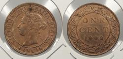 World Coins - CANADA: 1900 Victoria Cent