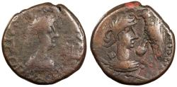 Ancient Coins - Kings of Bosporos Rhescuporis V, with Constantine I 'the Great' 314-342 A.D. Stater Good Fine