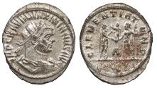 Ancient Coins - Maximianus First Reign 286-305 A.D. Antoninianus Siscia Mint Choice EF