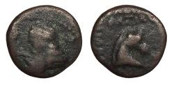 Ancient Coins - Parthia Orodes II 57-38 BC Chalkous Fine