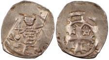 World Coins - AUSTRIAN / GERMAN STATES Carinthia (Kärnten) Bernhard von Spanheim 1202-1256 Friesacher Pfennig EF