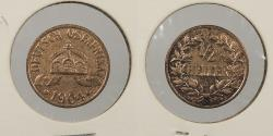 World Coins - GERMAN EAST AFRICA: 1904-A 1/2 Heller