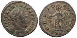 Ancient Coins - Licinius I 308-324 A.D. Follis Trier Mint VF