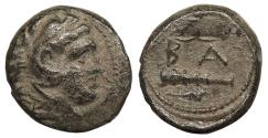 Ancient Coins - Kings of Macedon Alexander III (The Great) 336-323 B.C. AE17 Good Fine