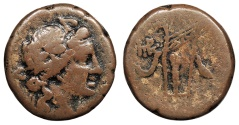 Ancient Coins - Cimmerian Bosporos Phanagoria 1st Century B.C. AE26 About Fine