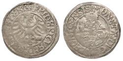 World Coins - GERMAN STATES Silesia-Liegnitz-Brieg (Now in Poland) Friedrich II 1488-1547 Groschen ND (Ca 1505) Good VF